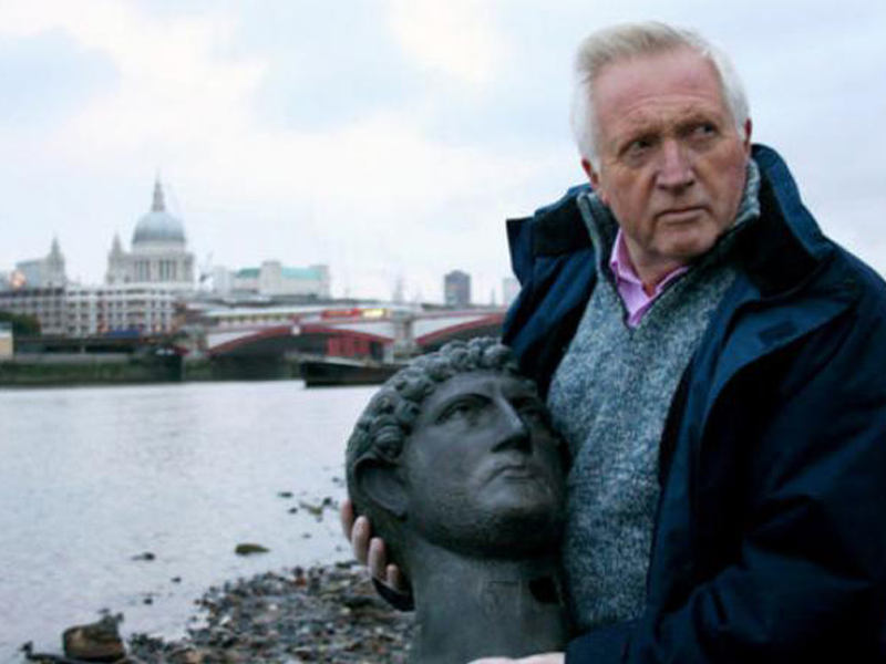 Documentary,-written-and-presented-by-David-Dimbleby.-Britain's-story-through-art-and-treasure,-from-the-Roman-invasion-to-the-Norman-Conquest.