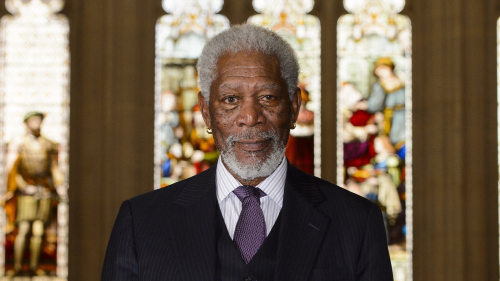 Morgan Freeman awarded Freedom of the City of London, The Guildhall, London, Britain – 12 Nov 2014